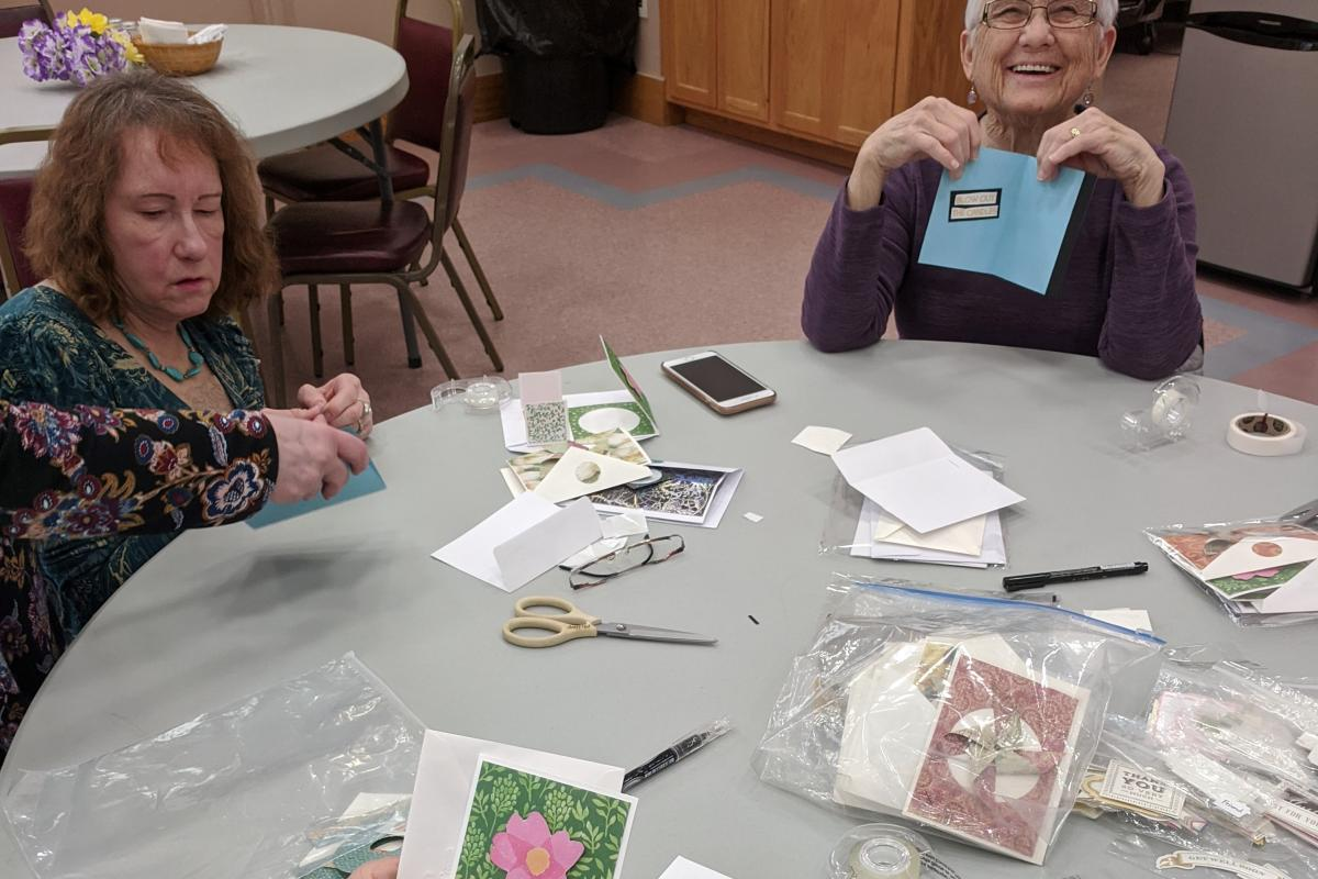 Arty Cards Class