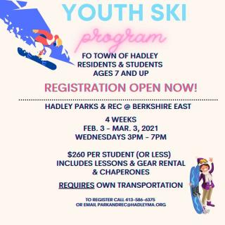 Ski Program@Berhshire East 2021
