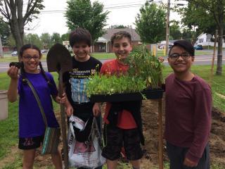 youth community garden