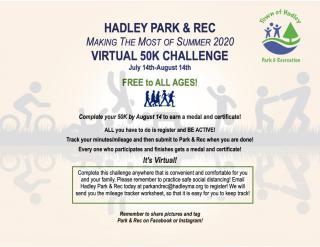 Park & Rec Virtual 50K Challenge