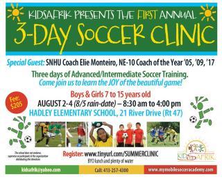 Soccer Skills flyer